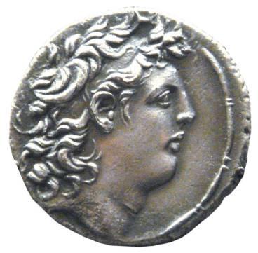 מטבע של טריפון מאוסף המוזיאון הבריטי, באדיבות uploadate