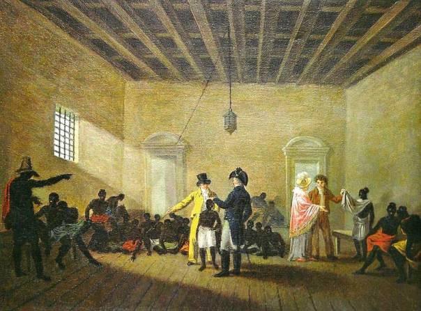 """רגע לפני הוצאתה להורג זעקה: """"להיות חופשי - או למות"""". עבדות, ג'ין בפטיסט דברט"""