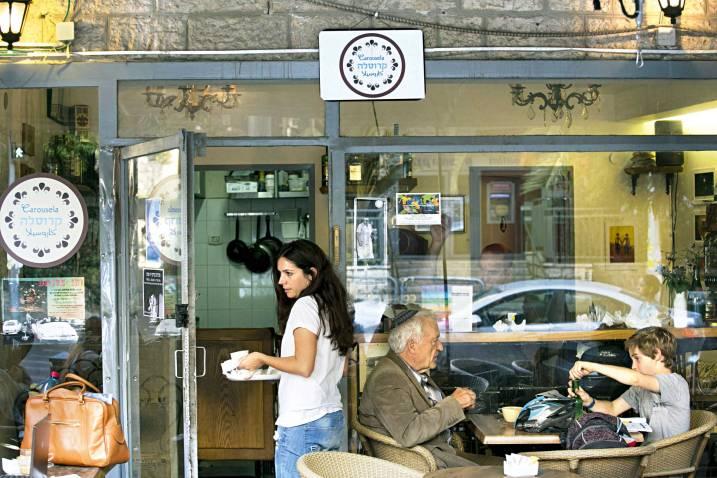 מסעדת 'קרוסלה', צילום: אוליביה פיטוסי