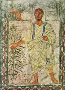 משה והסנה, בית הכנסת בדורא אירופוס