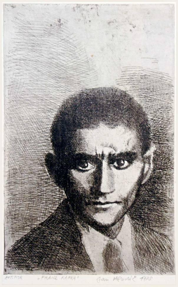 פרנץ קפקא איור: ז'אן הלאדיק, 1978