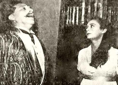 סיום לא סגור. חנה מרון ויוסי ידין ב'בעלת הארמון', 1955 צילום: ויקיפדיה