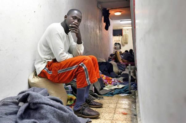 תופעת ההסתננות מאפריקה כקריאת כיוון רוחנית. פליטים בדרום תל־אביב צילום: פלאש 90