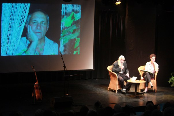 שניהם לחמו בששת הימים והיו ממייסדי גוש אמונים. הרב פרומן מספר על חנן פורת. צילום: מרים צחי