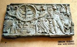 סרקופג יהודי, המוזיאון הלאומי ברומא, המאה השניה לספירה (1)