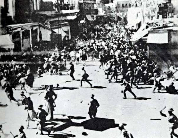 ממחיש את השנאה. פרעות ביפו, 1936