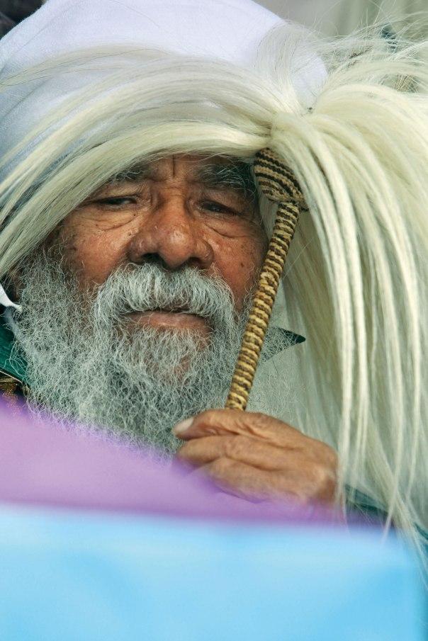 הידע הקיים אצל הזקנים עלול עד מהרה להקבר באדמת ישראל. קייס אתיופי. צילום: מרים צחי