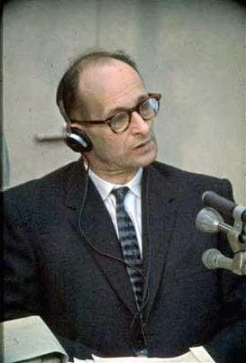 טען לקיום חובתו האזרחית.משפט אייכמן, 1961  צילום: IGP
