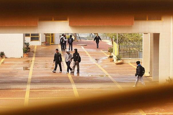 המבנה הנורא של בית הספר הופך למקום חינוכי־רוחני. תיכון ברנקו וייס, רמלה             צילומים: פלאש 90
