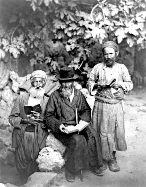 יחס חשדני ועוין. אנשי היישוב הישן, 1895