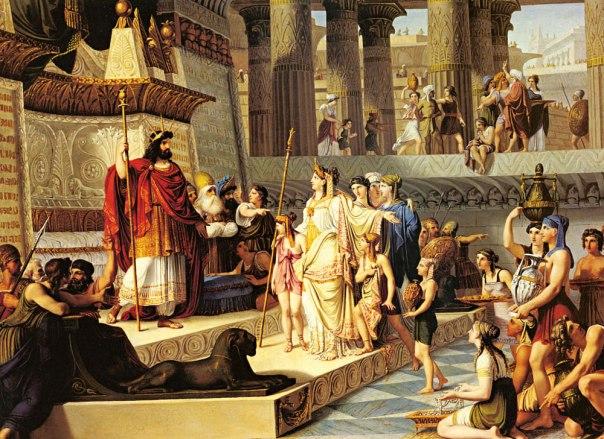 מה מעמדו של מי שירש מלוכה בעת מחלוקת? שלמה ומלכת שבא, ג'ובאני דמין, 1789־1859