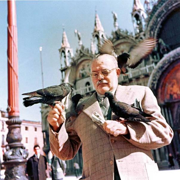 מהגר בנשמתו. ארנסט המינגוויי, ונציה, 1954