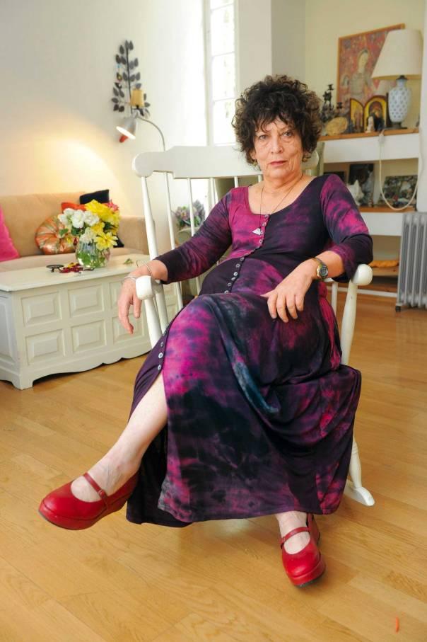 מבשרת של שירת נשים מזן אחר. נורית זרחי צילום:  ראובן קסטרו