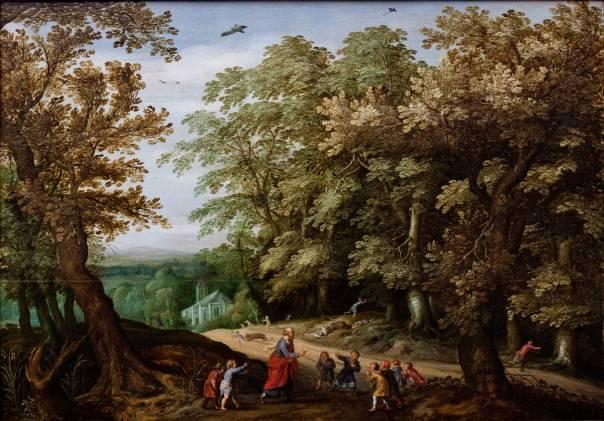 """שואל מן התנ""""ך תבניות סיפוריות ותחביריות. """"אלישע מקלל את הילדים"""", ויליאם ואן־דן בנדל"""