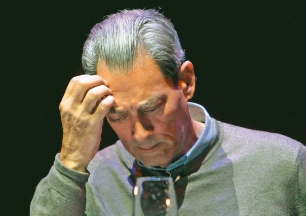 חשבון נפש לאיש שחב לא מעט ליפי תוארו. פול אוסטר         צילום: איי.פי.איי