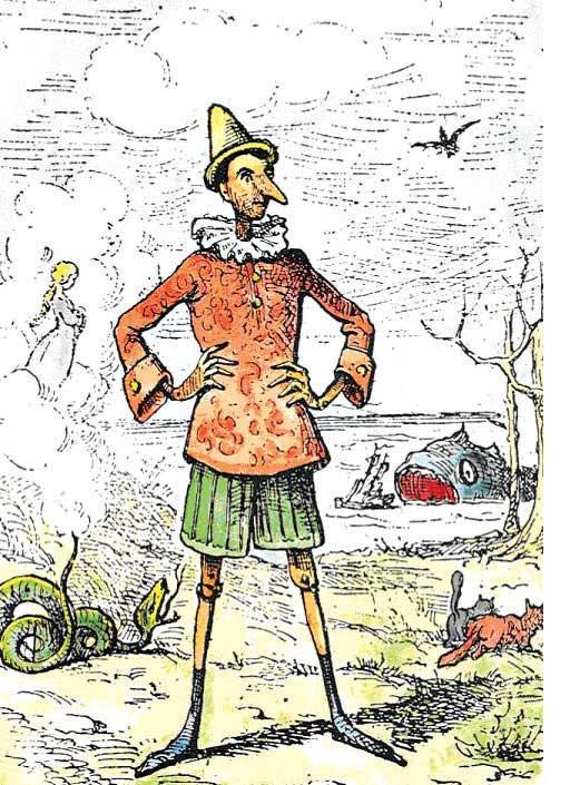פינוקיו, אנריקו מאזנטי, 1883