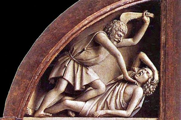 יאן ון אייק, קין רוצח את הבל (הערצת השה), 1432