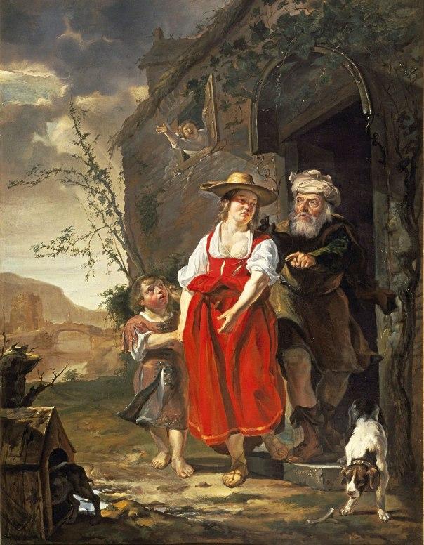 חבריאל מטסו, גירוש הגר, 1650