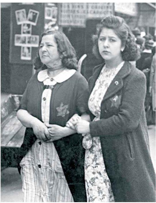 ביקורת על בגידת המנהיגות הצרפתית בעם היהודי. נשים יהודיות בפריז הכבושה, יוני 1942