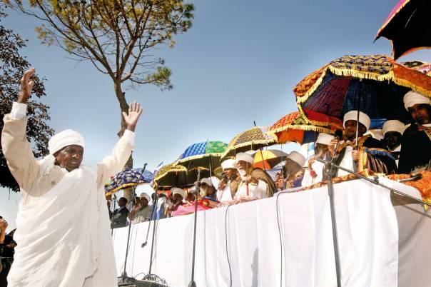 אוצר שלם של מסורת דתית שסכנת שכחה רובצת לפתחה. חג הסיגד בירושלים, 2012  צילום: מרים צחי