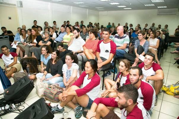 דתיים וחילונים נפגשים כדי לחגוג את זהותם היהודית. פסטיבל הקהל 17. צילום: עופר עמרם, יחסי ציבור