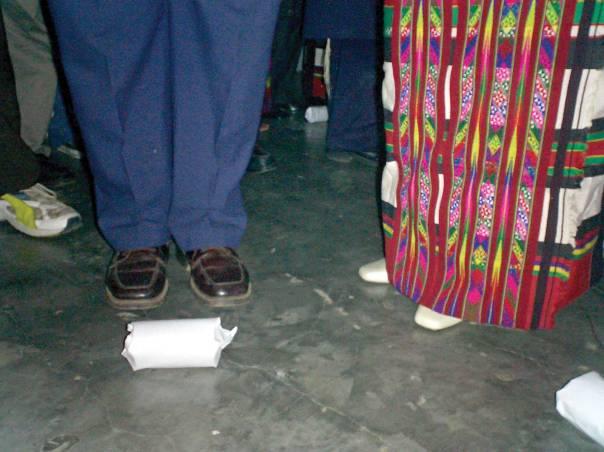 זכות ולא חובה. חופה של זוג מבני המנשה, הודו, 2006