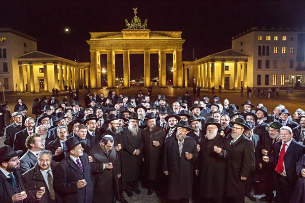 מתמודדים עם אתגרים כמו משבר כלכלי וצמיחה דמוגרפית מוסלמית. כנס רבני אירופה בברלין  צילום: ועידת רבני אירופה