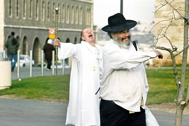 נחמה בדת ובקריאה בכתבי הקודש. ירושלים, 2007  צילום: פלאש 90