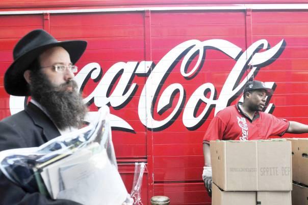 יהדות ארצות הברית מתונה יותר מזו הישראלית ומעורה יותר בתרבות הסובבת אותה. ברוקלין, 2013 צילום: פלאש 90