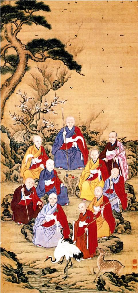 לשוחח עם מורים קודמים. מורי זן־בודהיזם ביפן