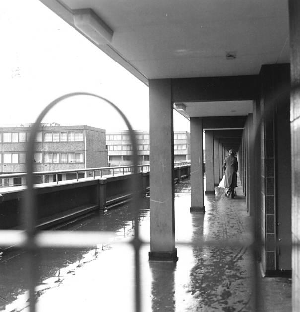 מקיואן מיטיב לתאר את העליבות שאפיינה את בריטניה. לונדון בשנות השבעים צילום: גטי אימג'ס