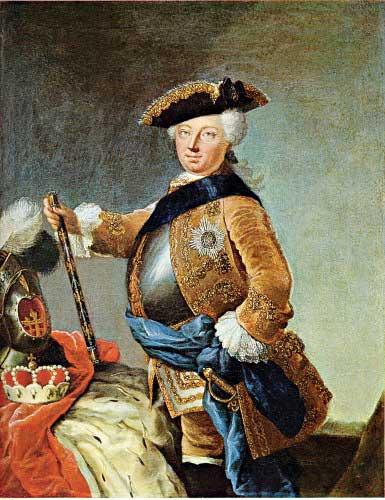 קרל פרידריך, שמינה את אלחנן פרנקל לראש ונציג בקהילה היהודית.