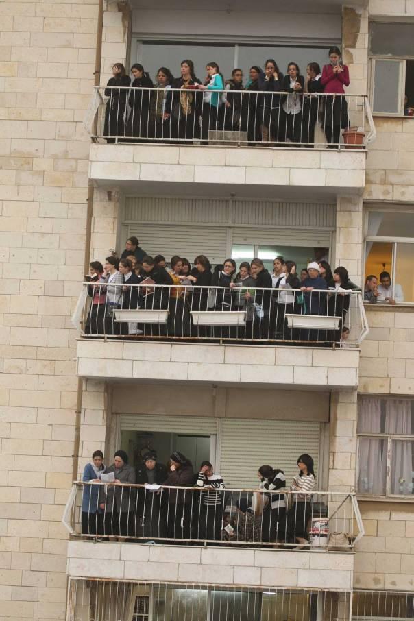 בהפגנת החרדים בירושלים, השבוע צילום: מרים צחי