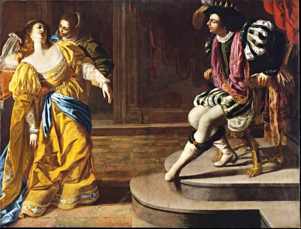 ארטמיסיה ג'נטילסקי, אסתר לפני אחשוורוש, 1628