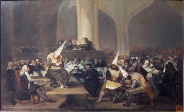 פרנסיסקו דה גויה, בית משפט של האינקוויזיציה, 1808