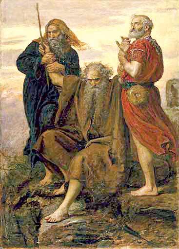 העמלקיות מכריחה להעמיק את תפיסתנו הערכית. ניצחון עמלק, ג'ון אוורט מיליי, 1871