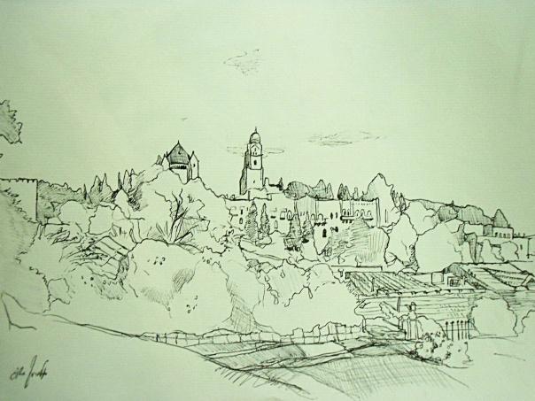 איתמר ליברמן, מורדות הר ציון, ירושלים, 2013
