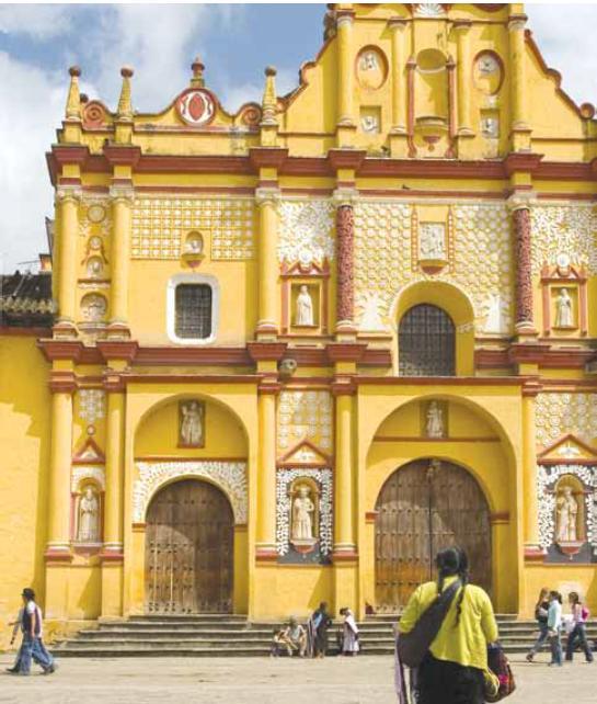 """""""באמצעותי, הם תופסים את ההיסטוריה והתרבות של מקסיקו"""". מחוז צ'יאפס, מקסיקו צילום אילוסטרציה: שאטרסטוק"""
