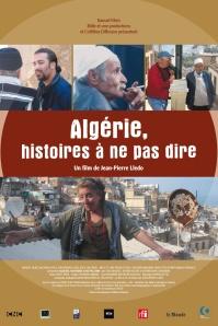 """פוסטר הסרט """"אלג'יריה, סיפורים שלא ניתן לספר"""""""