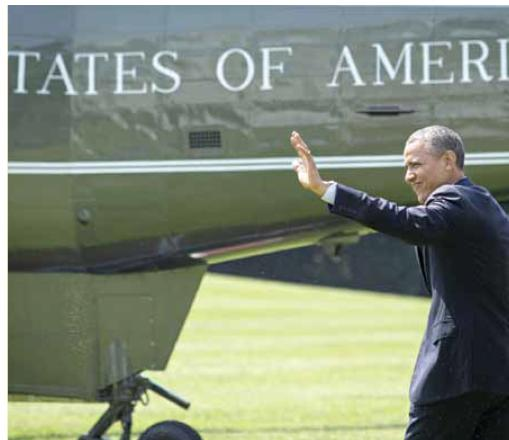 """האם ארה""""ב עדיין מאמינה בתפקידה הייחודי בעולם? אובמה  צילום: EPA"""