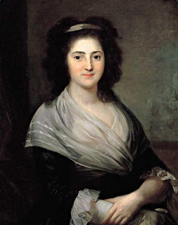 נשים מרתקות בחשיבתן, בכתיבתן ובקורות חייהן. הנרייטה הרץ, אנטון גרף, 1792