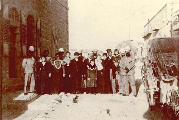 ראה בה אבן־חן שזוהרה טושטש. הרצל בשכונת ממילא בירושלים, 1898