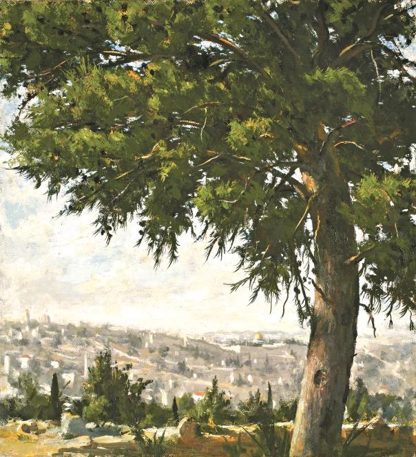 """העמידה מרחוק היא המעשה הראוי.  אילן ברוך, """"אורן בארמון הנציב"""", 2009"""
