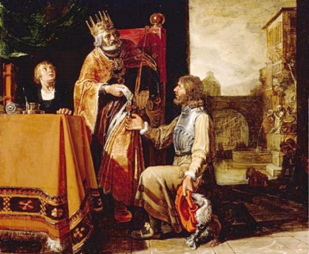 מלך הוא המצאה גרועה, אפילו מפלצתית. פיטר לאסטמן, דוד ואוריה החתי, 1611