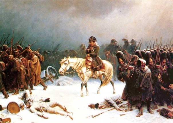 היסטוריה רצופת מלחמות. אדולף נורטן, נסיגת נפוליאון ממוסקבה