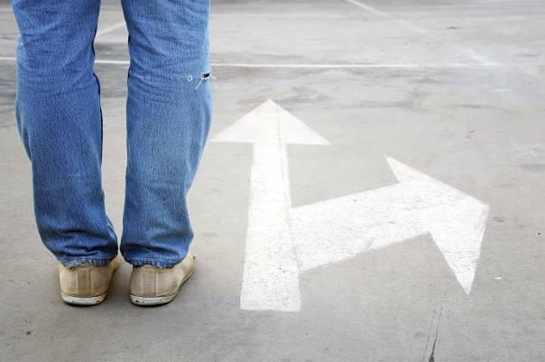 הבחירה איננה רק הכרעה נקודתית, אלא תנועה לאורך דרך  צילום: שאטרסטוק