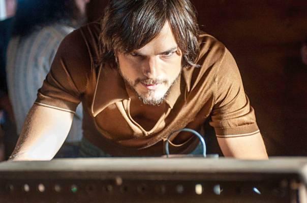"""המחשב מסייע ליכולותינו השכליות והנפשיות. מתוך הסרט """"ג'ובס"""" צילום: יח""""צ ֿֿ"""