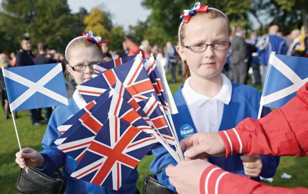 האם עצמאות אמיתית אפשרית בעידן הגלובלי? יום הבחירות בסקוטלנד צילום: אי.פי.אי