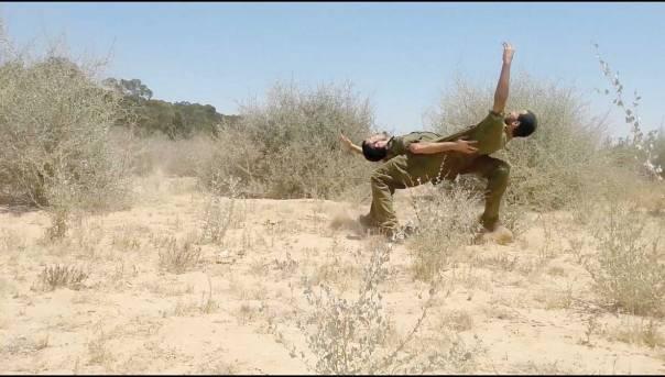 תמונות מתוך הסרטון ״צוק איתן״ של רונן יצחקי