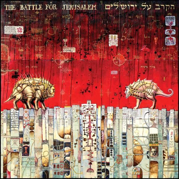 סרגיי אנגל, הקרב על ירושלים (מימין)